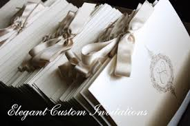 wedding programs with ribbon ceremony programs invitations