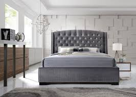 freitaslaf net ltd brando velvet wingback bed