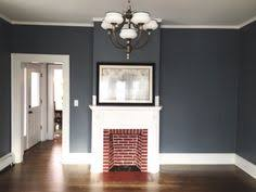 grey blue dining room farmhouse table sherwin williams storm