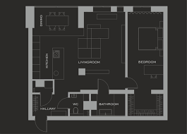 layout floor plan 2 gorgeous single story homes with 80 square meter floor space