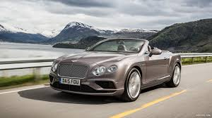 bentley continental 2016 2016 bentley continental gt v8 convertible silver taupe front