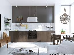 6 beautiful scandinavian kitchen design ideas with a simple dining