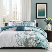 bed u0026 bedding oliver california king comforter sets in black and