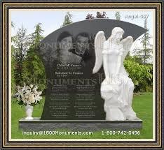headstone sayings angel memorials