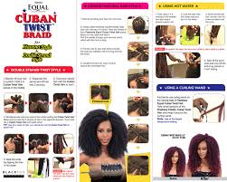 cuban twist hair freetress equal cuban twist braid double strand style 16 braiding