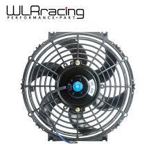 10 inch radiator fan wlring 10inch universal 12v 80w slim reversible electric radiator