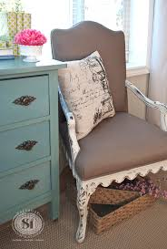 Where To Buy Upholstery Fabric Spray Paint Painting Fabric With Chalk Style Paints Granny Chair Makeover