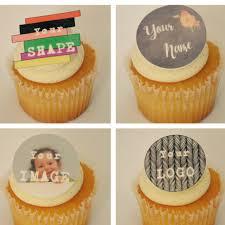 custom edible images custom cupcake toppersedible custom