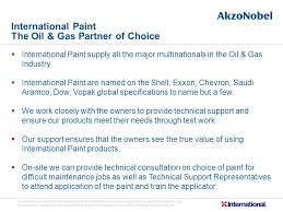 international paint ltd oil u0026 gas solutions ppt video online