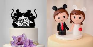 cake toppers wedding disney wedding cake toppers 3452