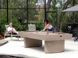 outdoor pool tables all weather pool tables weatherproof pool tables
