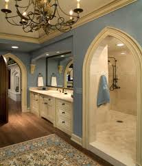 Bathroom Remodel Ideas Walk In Shower Bathroom Chandelier Design Ideas With Plank Wood Flooring Plus