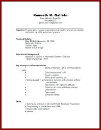 resume template no work experience resume templates for no experience medicina bg info