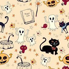 halloween seamless backgrounds halloween seamless background u2014 stock vector pictulandra 30633571