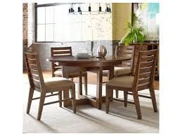 kincaid furniture traverse five piece dining set with blacksmith
