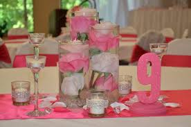 quinceanera table decorations centerpieces decorations low cost wedding centerpiece ideas bliss baby
