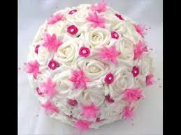 Artificial Flower Bouquets Diy Wedding Bouquets Artificial Flowers Youtube