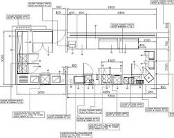 house plan dimensions uncategorized endearing restaurant kitchen layout dimensions