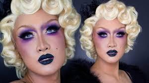 1920s flapper drag makeup tutorial youtube