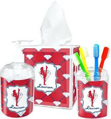 White Bathroom Accessories Set by Dark Red Bathroom Accessories U2013 Hondaherreros Com