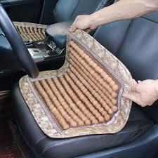 si e massant voiture vehemo bois en bois perlé de voiture siège auto couverture de
