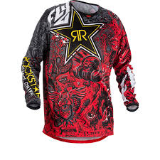 motocross gear on sale fly racing 2018 kinetic rockstar motocross jersey new arrivals