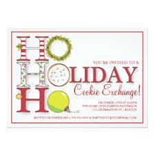 ornament exchange invitations u0026 announcements zazzle