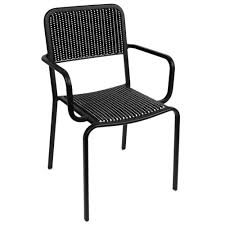 Fake Wicker Patio Furniture - bfm seating dv353bwbl rio outdoor indoor stackable synthetic