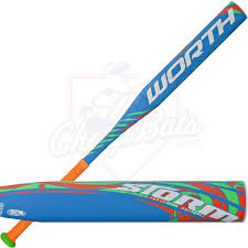 worth fastpitch bats worth highlighter alloy fastpitch softball bat 13oz fpsthl