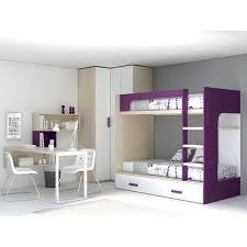 lit superpose bureau lit superpose bureau chambre avec lit superposac bureau