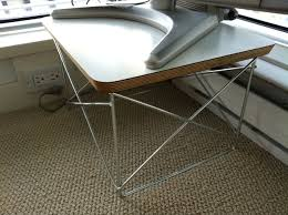 eames wire side table herman miller eames small wire frame table revision interiors