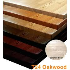 butcher block oak wood table top twt24