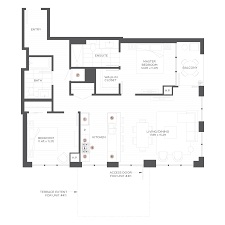 floorplans the hudson by onni chicago luxury rental apartments
