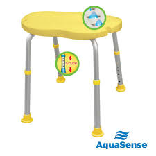 adjustable bath and shower chair with non slip comfort seat sunlight