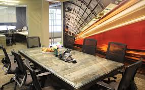 Pool Table Conference Table Spaces We Love Back U0027s Construction U0027s Creatively Industrial