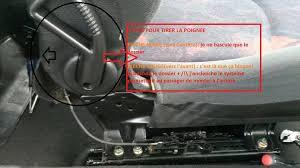 siege 206 s16 mon siège passager ne se bloque plus sos 206 peugeot forum marques