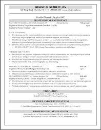 resume templates er nurse registered resume template i cover letter