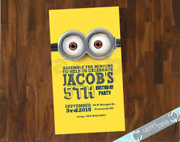 diy minion invitations the ultimate roundup of affordable minion birthday party ideas