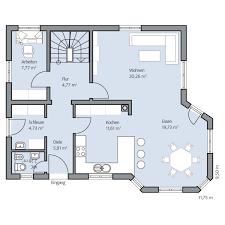 Haus Grundriss Hausgalerie Detailansicht Roth Bau Gmbh