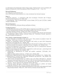 Biology Sample Resume by Molecular Biology Resume