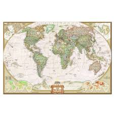 Canvas Map Of The World by Online Buy Wholesale Canvas World Map One Piece From China Canvas