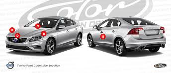 volvo touch up paint find touch up color for volvo color n drive