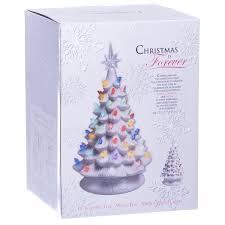 retro light up white ceramic christmas tree retrofestive ca