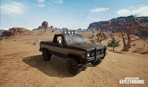 pubg desert map a pickup truck is being added to pubg on the new desert map dot