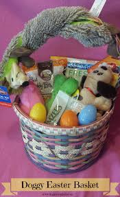 Homemade Easter Baskets by Diy Doggy Easter Basket Dog Mom Days