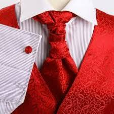 what goes with roses try a primetime red vest and tie for the