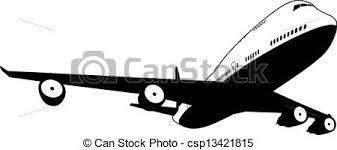 aereo clipart bianco aereo nero jet commerciale illustrazione aereo