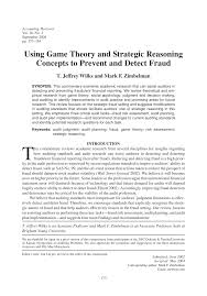 using game theory and strategic reasoning concepts to prevent and