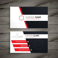 Business Card Design Psd File Free Download Creative Visit Card Template Vector Free Download