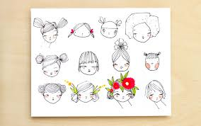 how to draw doodle faces recipe for how to draw a craft a doodle giveaway pretty